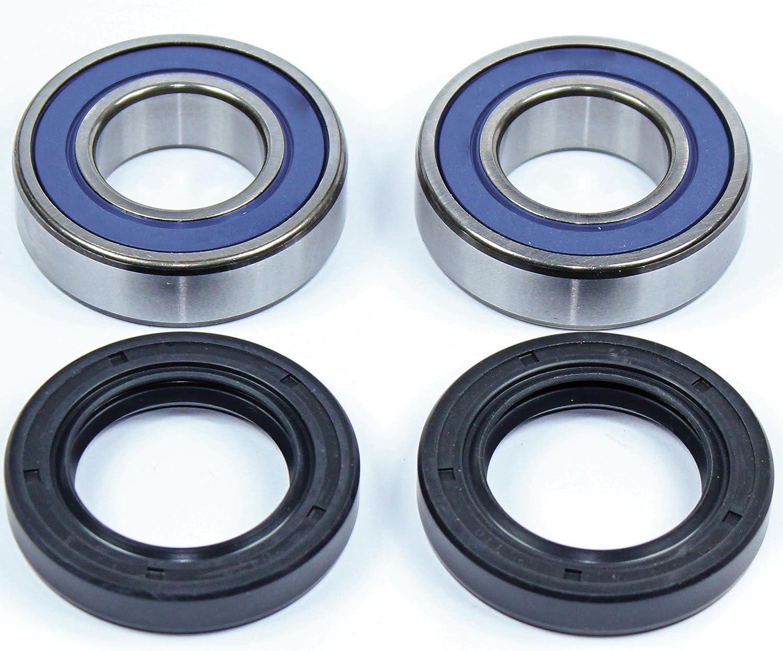 Caltric Front Wheel Ball Bearings /& Seals Kit for Yamaha Xv1700 Road Star 1700 Warrior 02-09