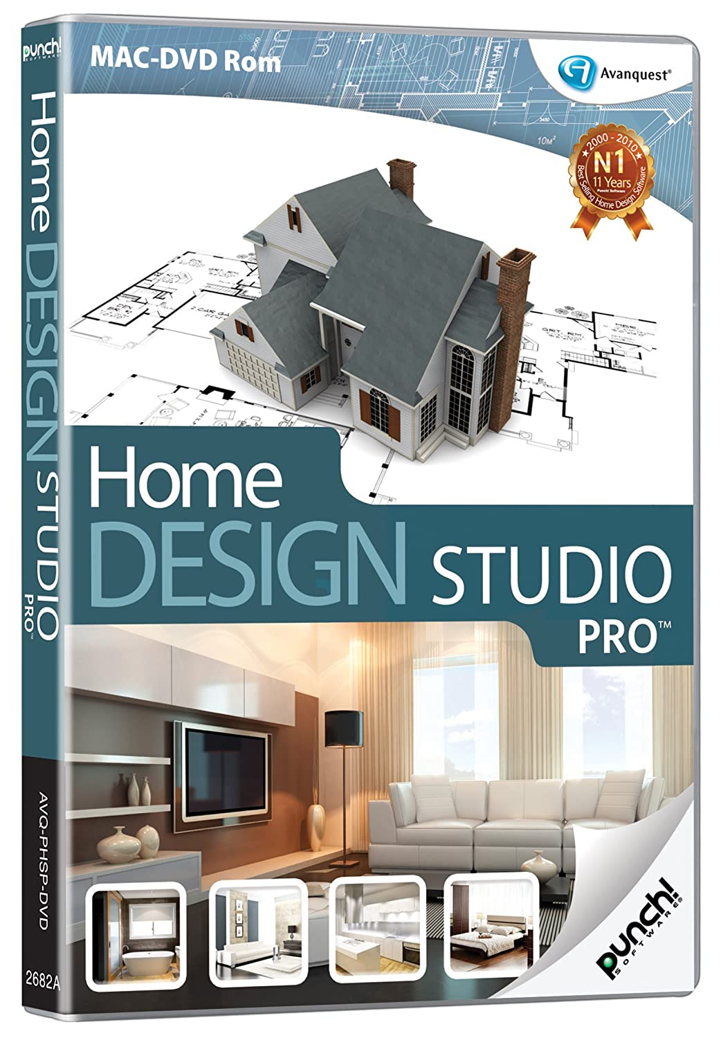Punch Home Design Studio PRO Mac Amazoncouk Software