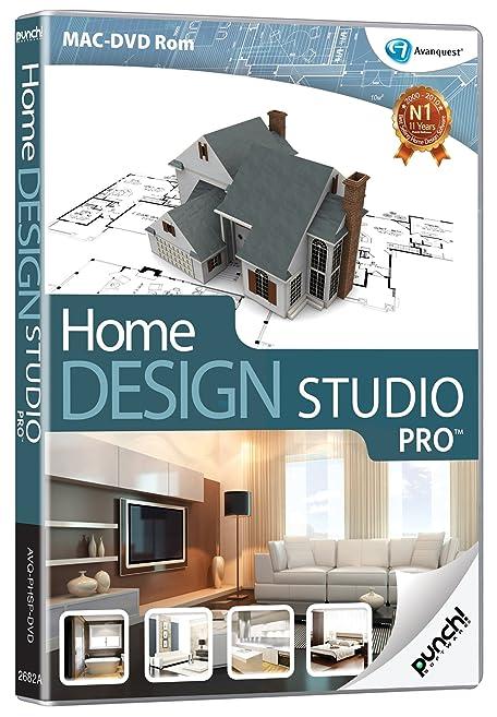 home design studio pro. Punch Home Design Studio PRO  Mac Amazon co uk Software