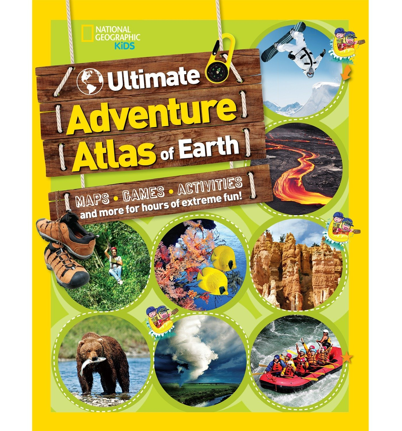 The Ultimate Adventure Atlas of Earth: Maps, Games, Activities, and More for Hours of Extreme Fun! National Geographic Kids Idioma Inglés: Amazon.es: National Geographic Kids: Libros en idiomas extranjeros
