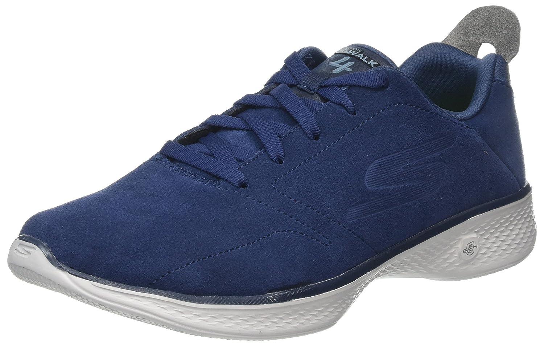Skechers Women's Go Walk 4 Trainers, Blue (NavyGrey), 5 UK 38 EU