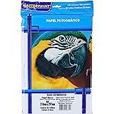 Papel Fotográfico, Inkjet, A4, Glossy, 180 g, Masterprint, 302010004, Multicor, pacote de 50