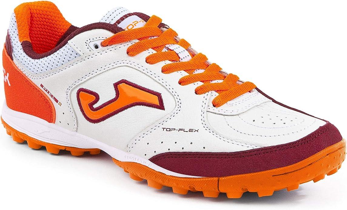 SPORTIME2 - Zapatillas de fútbol Sala de Cuero para Hombre Blanco Blanco Blanco Size: 40.5 EU: Amazon.es: Zapatos y complementos
