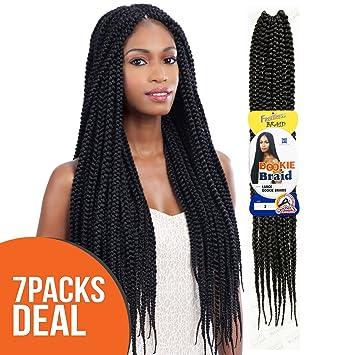 Amazoncom Multi Pack Deals Freetress Synthetic Hair Crochet