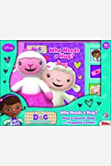 Disney Doc McStuffins Play A Sound Book and Huggalbe Lambie 9781450893909 Hardcover