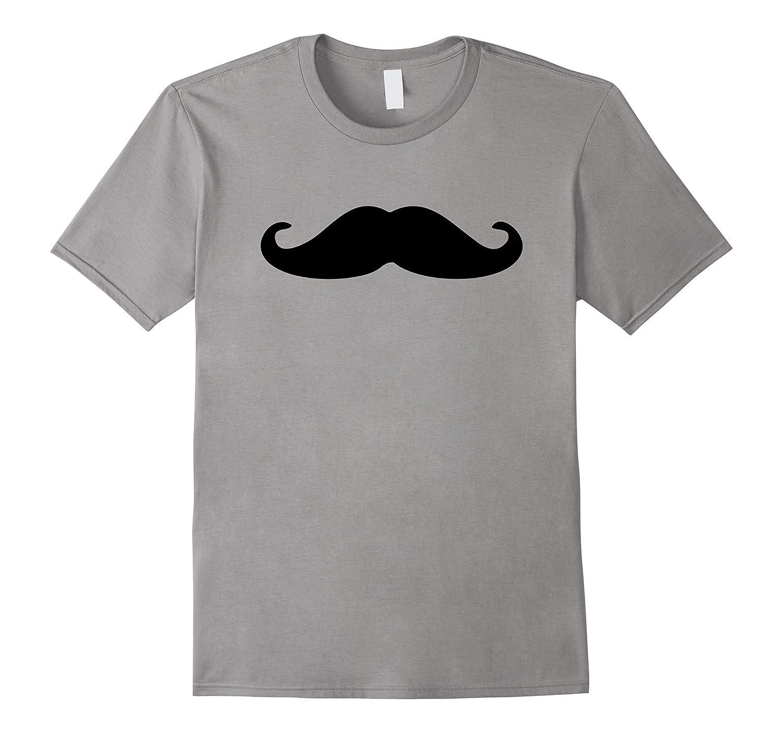 Black Mustache T-Shirt-Art