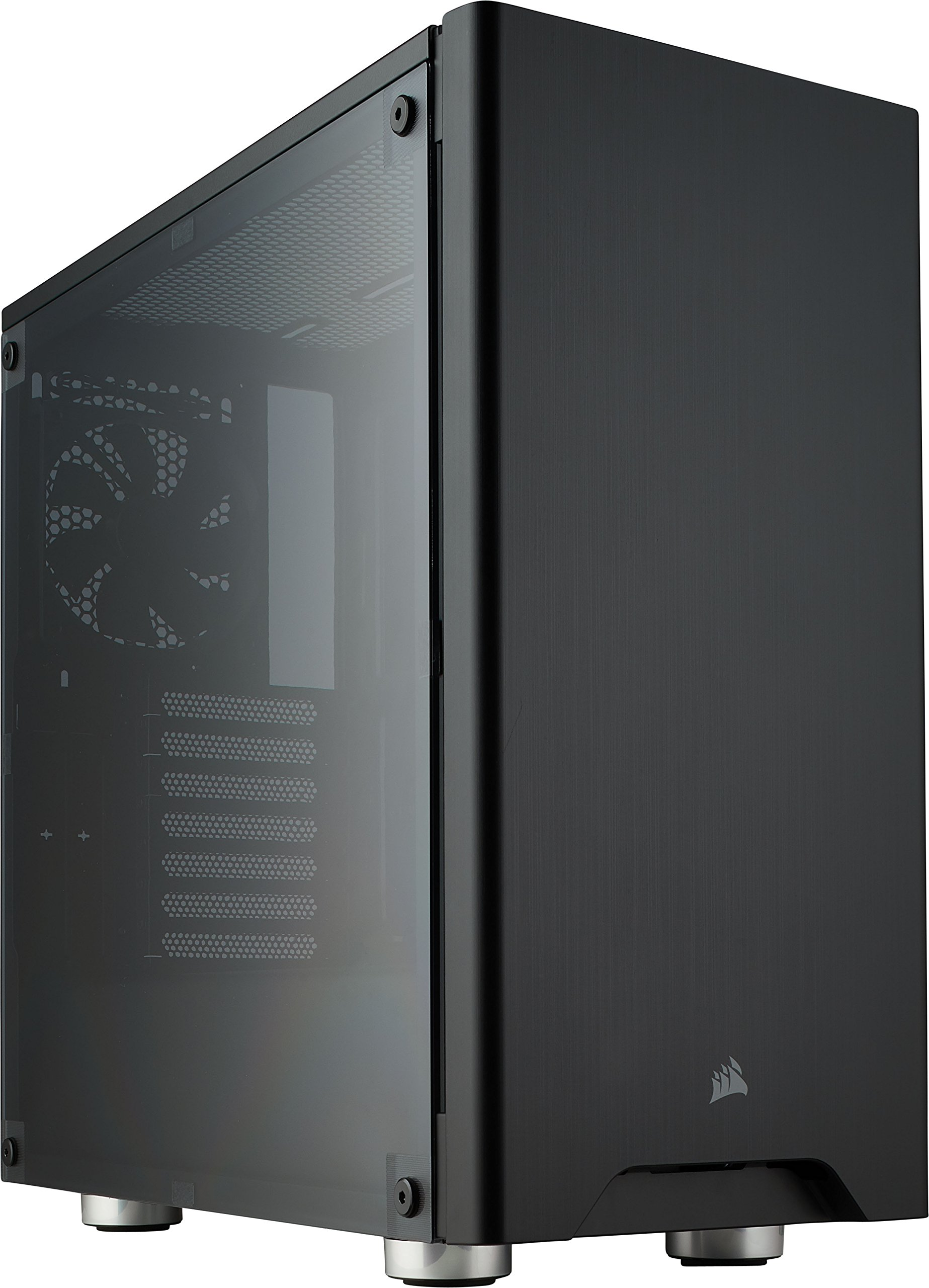 CORSAIR Carbide 275R Mid-Tower Gaming Case, Window Side Panel- Black