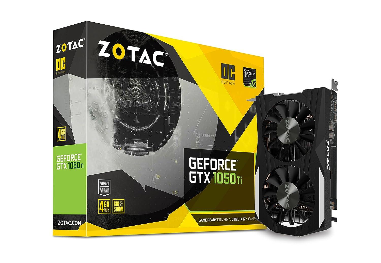 Zotac GeForce GTX 1050 Ti OC Edition (ZT-P105..