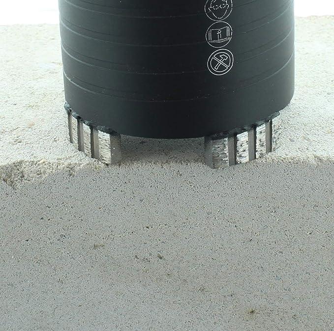 Diamant-Dosensenker Dosenbohrer f/ür Mauerwerk 82mm mit SDS-plus-Aufnahme Nutzl/änge 80 mm