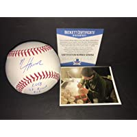 $69 » Nico Hoerner Chicago Cubs Autographed Signed Official Major League Baseball 2018 1st Round Pick