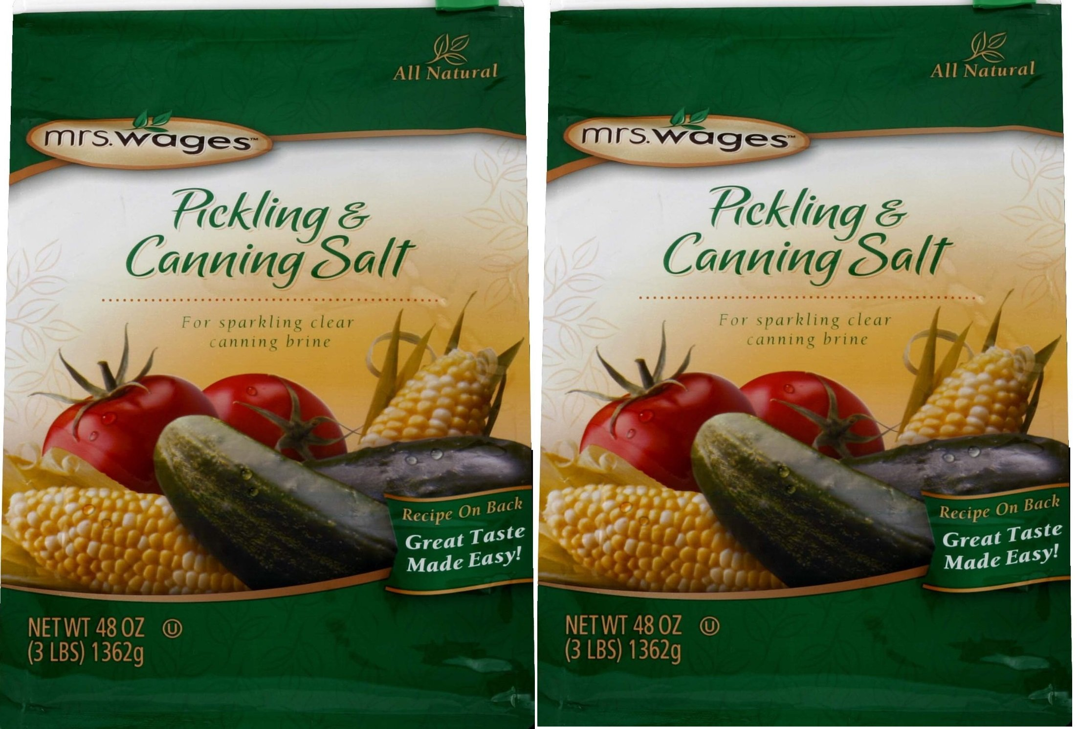 Mrs. Wages Canning & Pickling Mix Salt