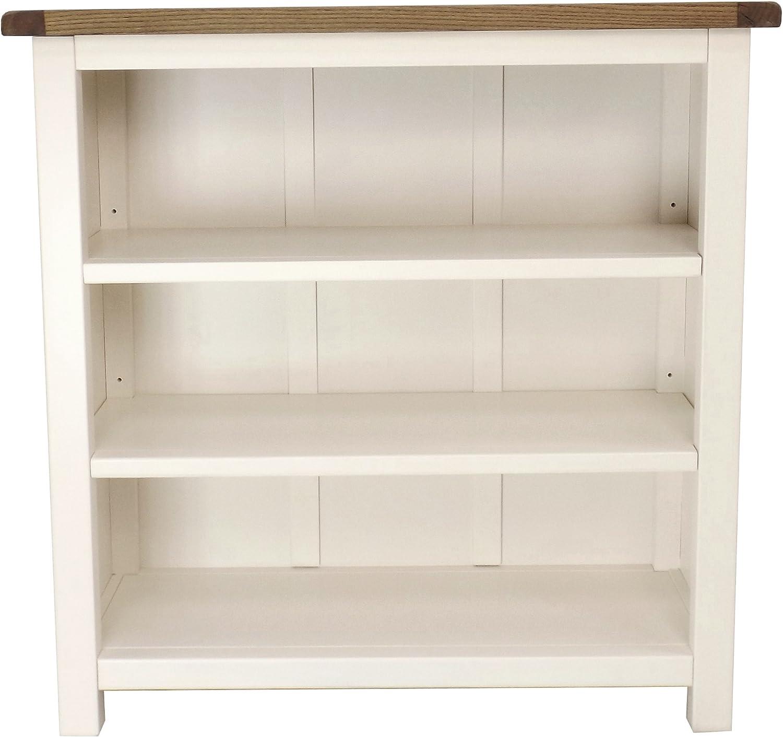Cabinet Bits Puntas para Tornillos de Armario estantería Baja (Madera, Madera, Color Blanco