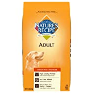 Nature'S Recipe Adult Dry Dog Food Adult Chicken Meal & Rice Recipe