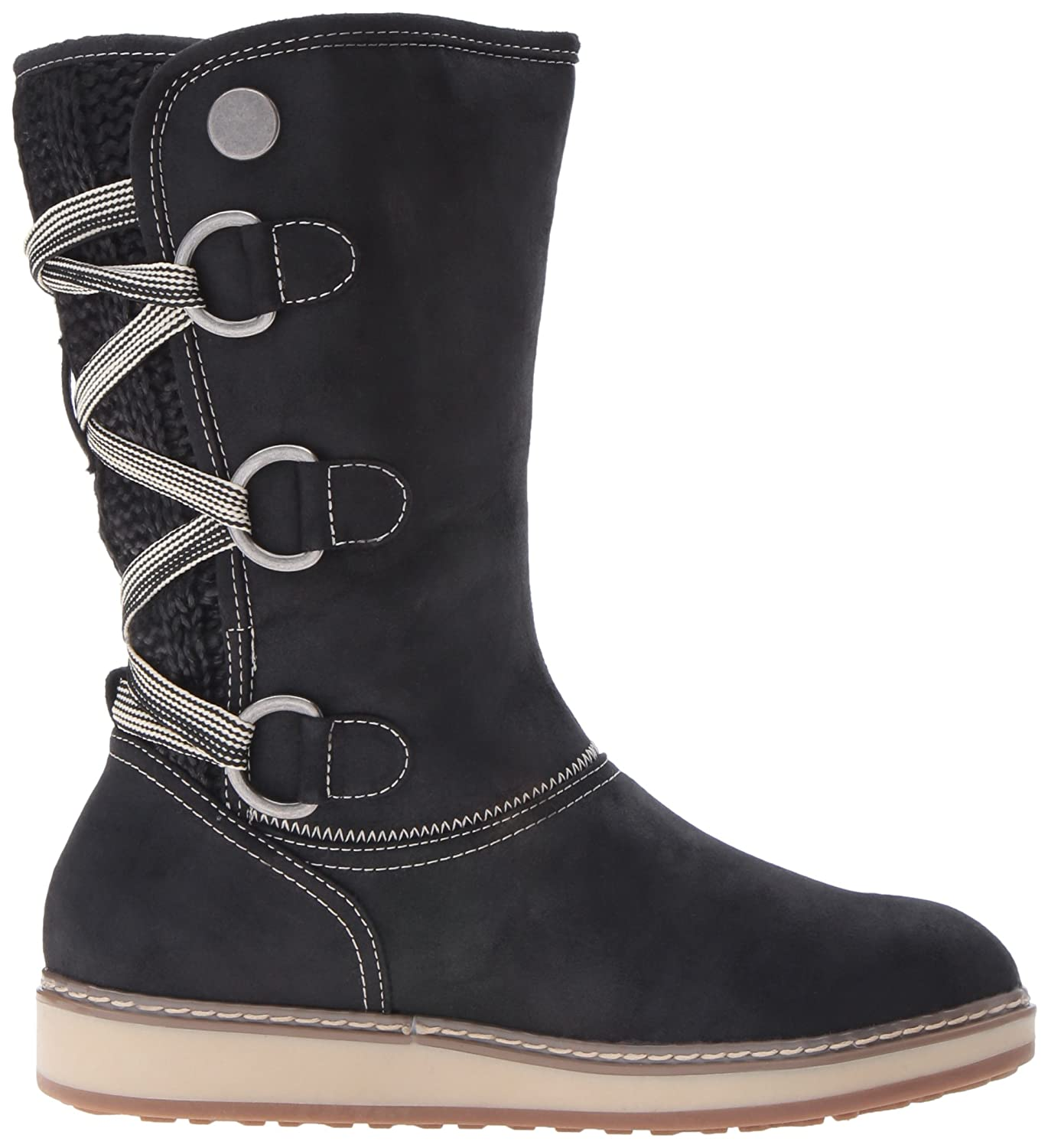 WHITE MOUNTAIN Women's Tivia Snow Boot B01DS40NFQ 6 B(M) US|Black