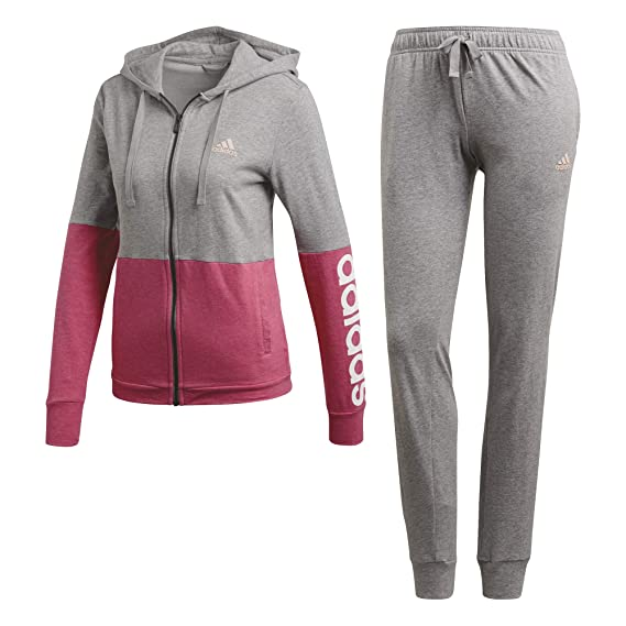 8995a30b756d adidas Women Track Suit Cotton Marker Training Running Workout Gym CZ2329  New  Amazon.co.uk  Clothing