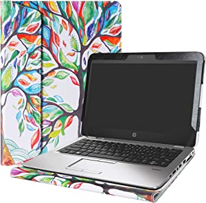"Alapmk Protective Case Cover for 12.5"" HP EliteBook 820 G4 G3 G2 G1 & EliteBook 725 G4 G3 G2 Series Laptop(Warning:Not fit Other EliteBook Series Laptop),Love Tree"