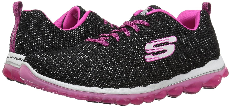 Skechers Women's Skech Air 2.0 Next Chapter US Black Sneaker B074BZFZJC 10 B(M) US Black Chapter Hot Pink 457071