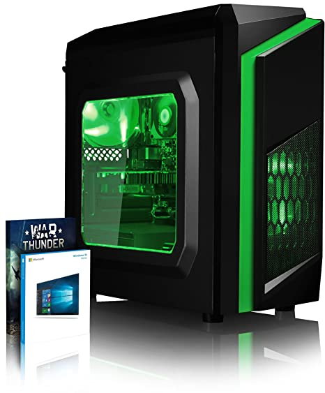 VIBOX FX 2 Gaming PC Ordenador de sobremesa con War Thunder Cupón de Juego, Windows 10 Pro OS (4,0GHz AMD FX Quad-Core Procesador, Nvidia GeForce GTX ...