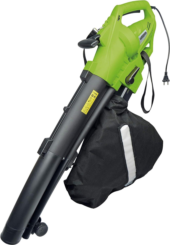 Brüder Mannesmann M60215 - Herramienta eléctrica Aspirador de hojas/soplador, 3000 W: Amazon.es: Bricolaje y herramientas