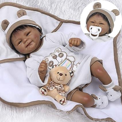 18/'/' Reborn Baby Dolls Lifelike Vinyl Silicone Newborn Xmas Gift Girl Toys