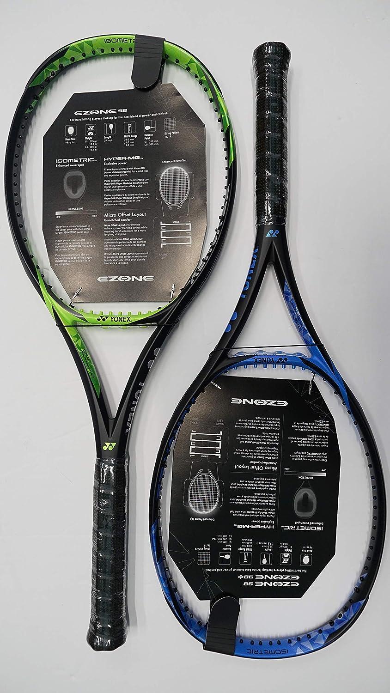 Amazon.com : Yonex Ezone 98 Tennis Racquet, Free Synthetic Gut String (Blue #2 [4 1/4]) : Sports & Outdoors