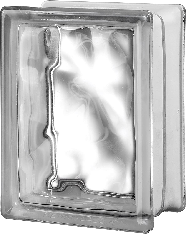 Seves Glass Block 8 x 8 x 4 Clarity Seves Glass Block