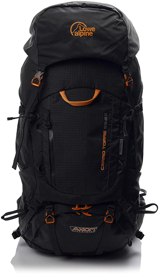 983bbe325bd Lowe Alpine Cerro Torre 65:85 Backpack - Black Regular: Amazon.ca: Luggage  & Bags