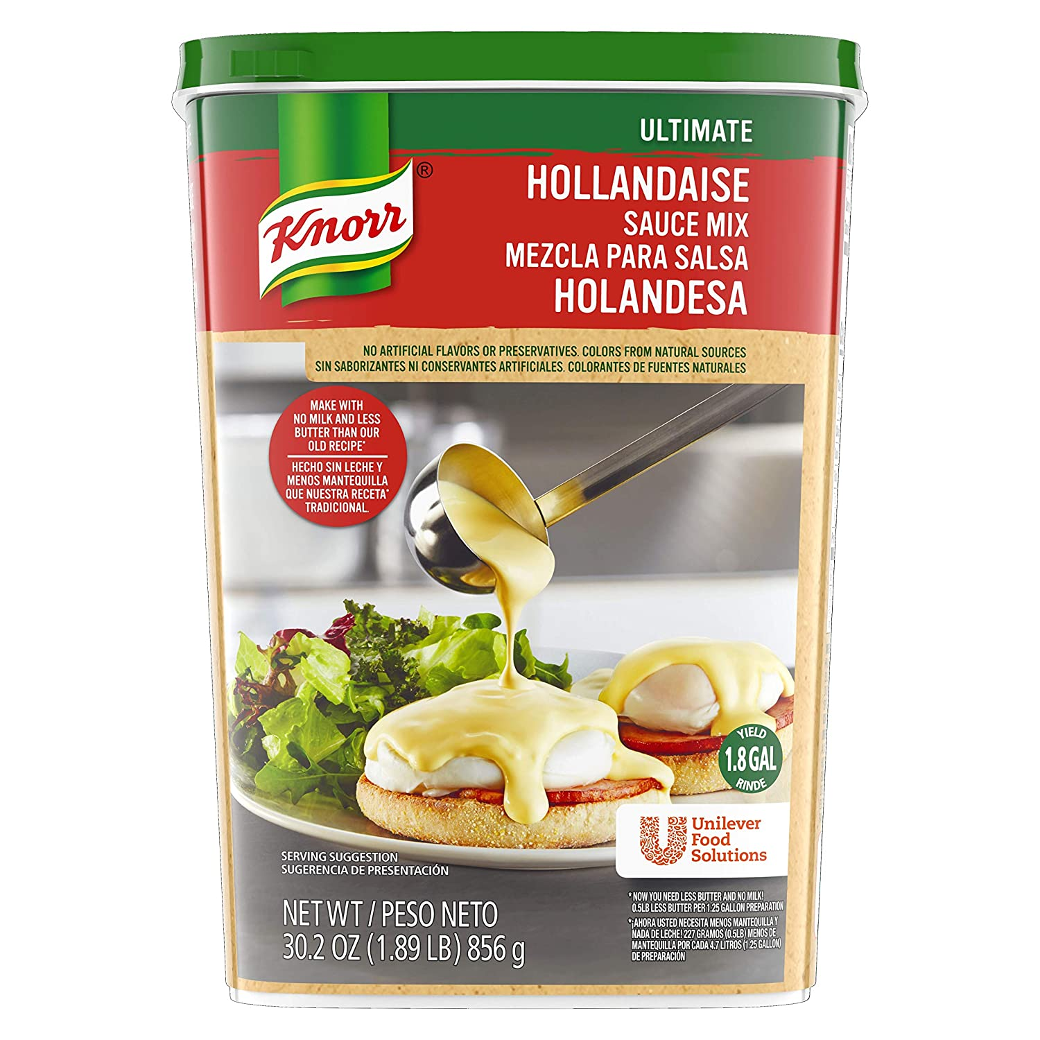 Knorr Ultimate Sauce Mix Hollandaise 30,2 oz, pack de 4 ...