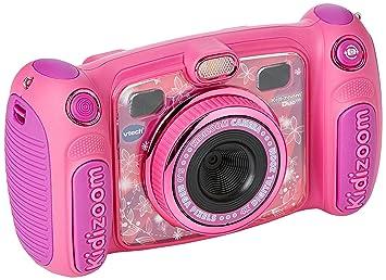 Vtech Kidizoom Duo 5.0 Digitale Kamera für Kinder, 5 MP, Farbdisplay, 2 Objektive, Pink Englische Version Rosa