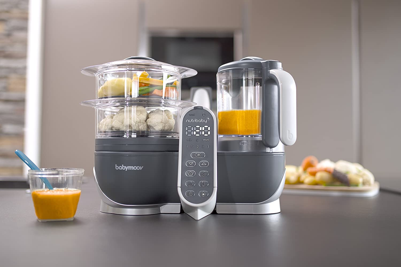 Babymoov NUTRIBABY (+) - Robot de Cocina Multifuncional 5-en-1 ...