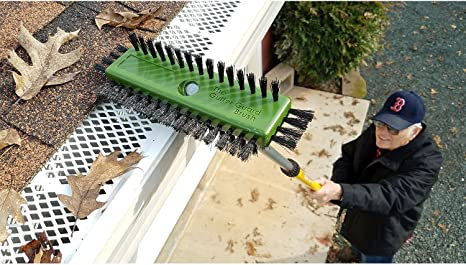 Gutter Guard Brush (11 inch.) Cleaning Tool