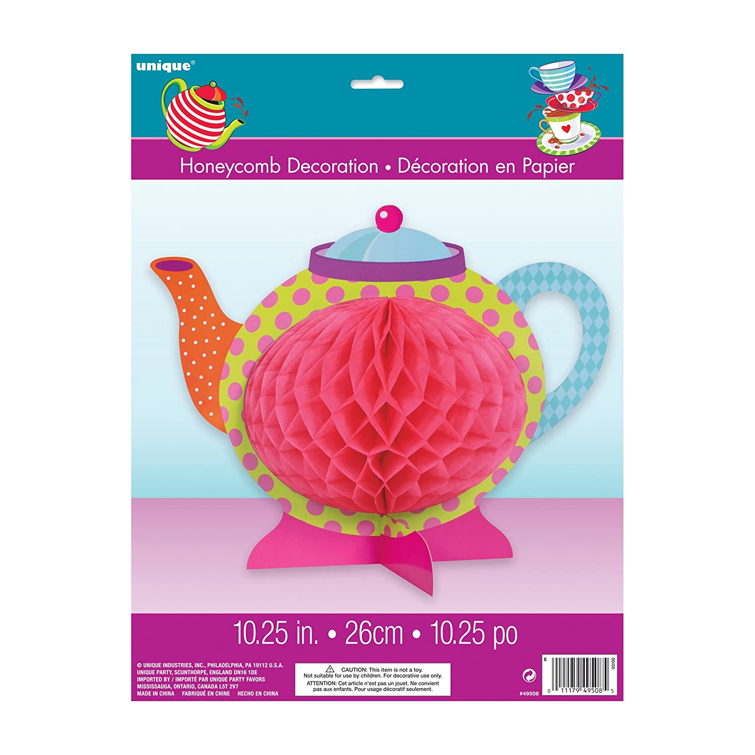 Amazon.com: Mad Hatter Tea Party Goodie Bags, 8ct: Kitchen & Dining