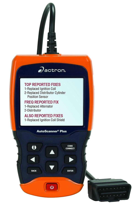amazon com actron cp9680 autoscanner plus obd ii abs airbag scan rh amazon com