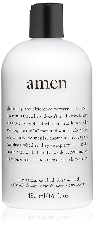 amazon com philosophy for men amen men s shower gel 16 fl oz amazon com philosophy for men amen men s shower gel 16 fl oz luxury beauty