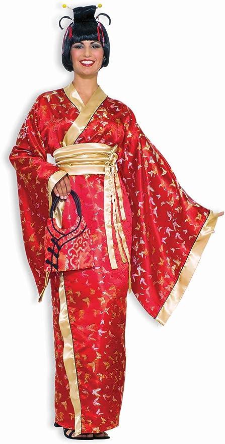 FULL LENGTH ORIENTAL DRESS  Chinese Japanese Kimono sizes; 10,12,14,16,18