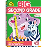 School Zone - Big Second Grade Workbook - Ages 7 to 8, 2nd Grade, Word Problems, Reading Comprehension, Phonics, Math, Scienc
