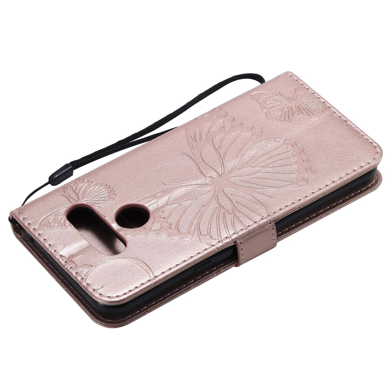 NEXCURIO Funda LG K50 NEKTU090494 Rojo LG Q60 Funda Piel Tipo Libro Carcasa Cartera Cuero Funci/ón de Soporte Magn/ética Cerrada para LG K50 LG Q60