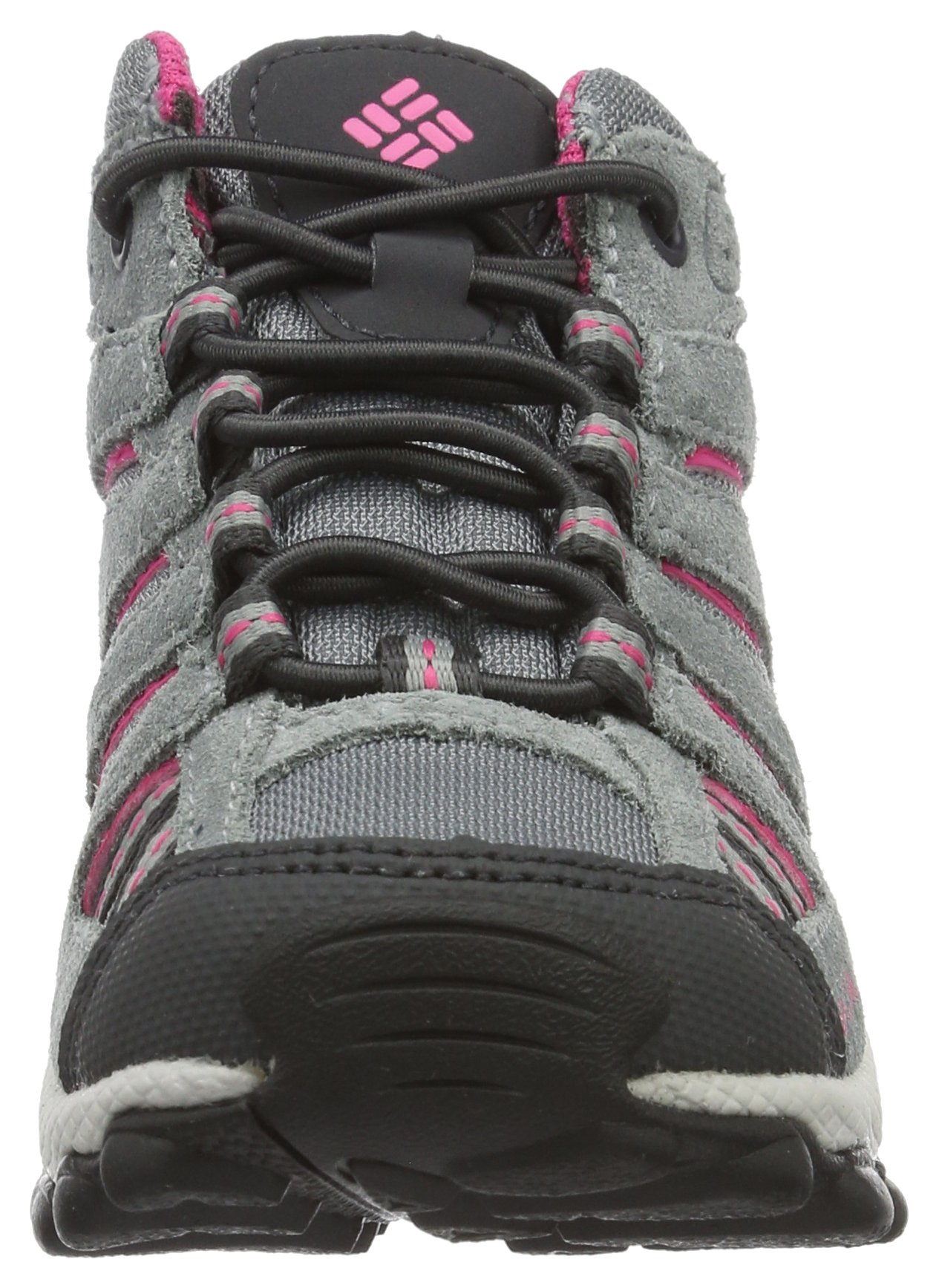 Columbia Childrens North Plains MID Waterproof Hiking Boot Grey Ash/Ultra Pink 11 M US Little Kid by Columbia (Image #4)