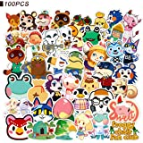 Animal Crossing Stickers - CHANGHUI 100pcs Cool Game Stickers for Water Bottles Waterproof and Perfect for Laptop…