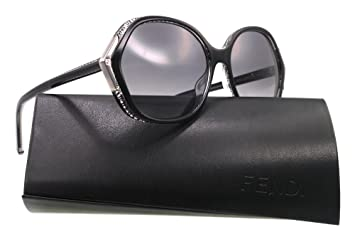 Fendi FrameBlack Sunglasses Gradient Fs5211 LensGrey fgb76y
