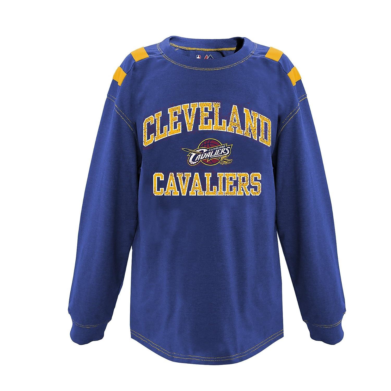 高い素材 NBAチームユース長袖Taped Shoulder Shoulder Tee Tee Small Cleveland Cavaliers Small B01NBBXP1L, 名入れダイニング【彫和家】:74f3c813 --- a0267596.xsph.ru