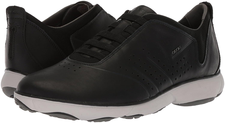 Geox Men's U NEBULA Sneakers, Black, 45 EU/12 M US U72D7A00085C9999