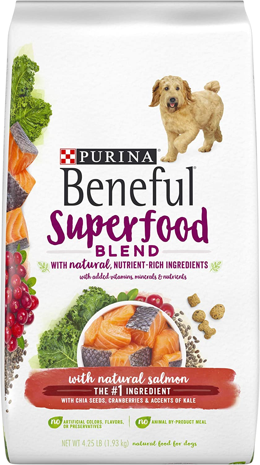 Purina Beneful Superfoods with Salmon Adult Dry Dog Food