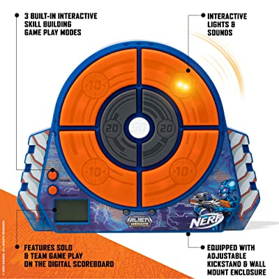 NERF Alien Menace Digital Target: Toys & Games
