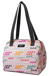 PackIt Freezable Hampton Lunch Bag, Paper Triangles