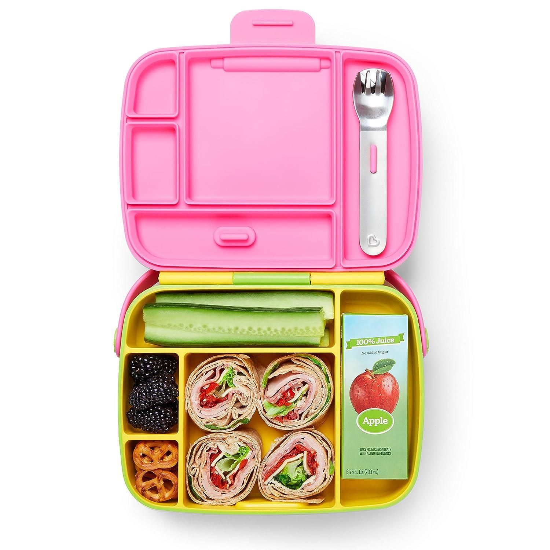 Green Munchkin Bento Box Toddler Lunch Box