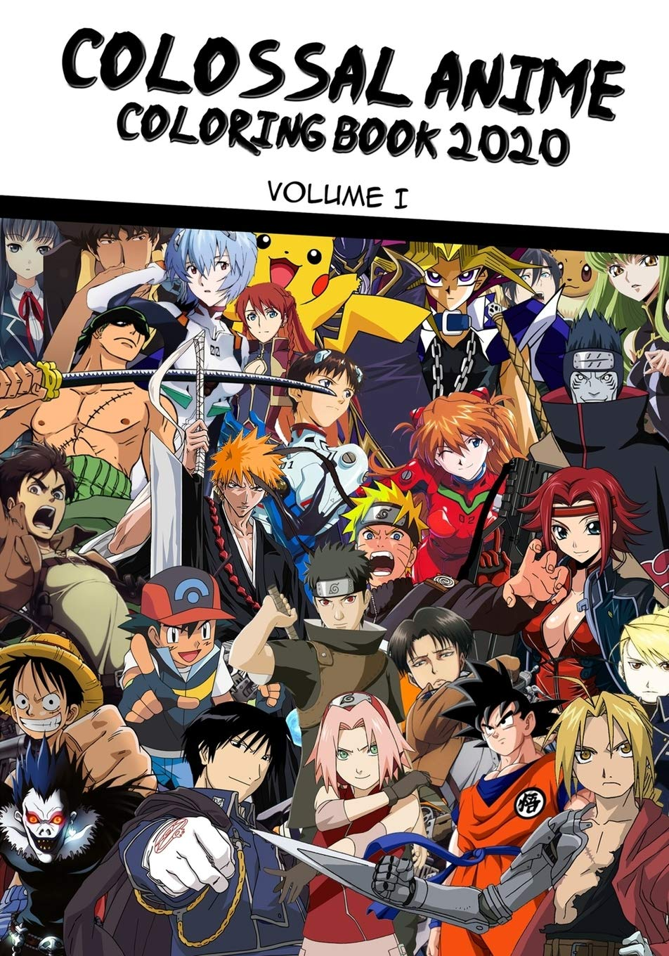 - Amazon.com: The Colossal Anime Coloring Book 2020 - Volume 1: Over