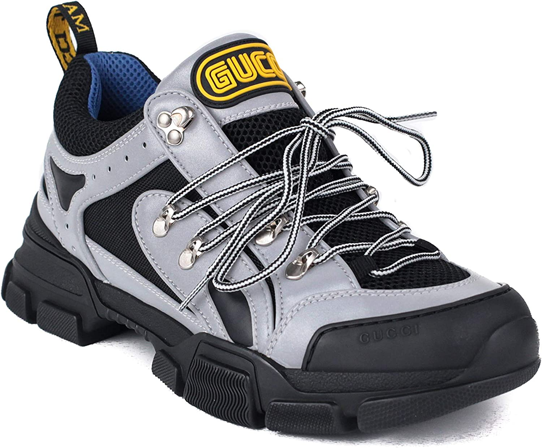 Gucci Men Flashtrek Sneaker Shoes Grey