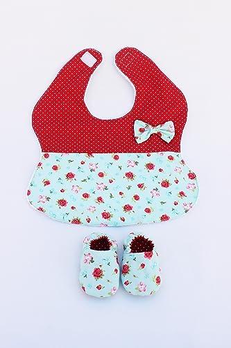 Canastilla bebe regalo recién nacido babero niña patucos de tela ...