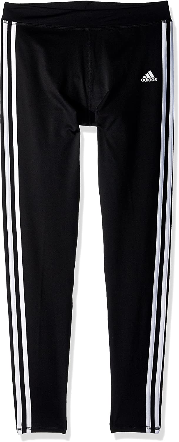 adidas Girls' Performance Tight Legging: Clothing